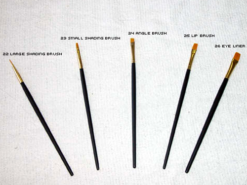 Toray Gold Brushes
